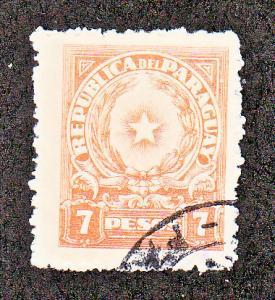 Paraguay Scott #394 Used