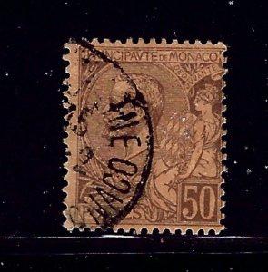 Monaco 23 Used 1891 issue       (P92)