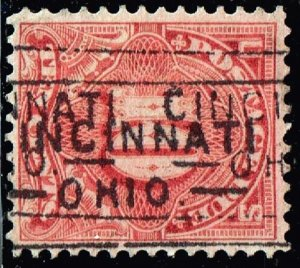 US STAMP #J42 10c Postage Due 1895 Used stamp USED STAMP