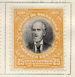 Nicaragua 1921 Early Issue Fine Mint Hinged 25c. 323648