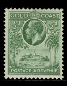GOLD COAST GV SG103, ½d blue/green, LH MINT.