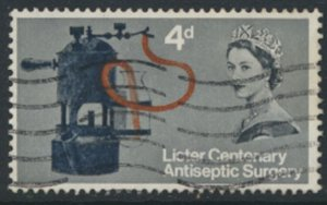 Great Britain  SG 667  SC# 426  Lister  Used see detail and scan