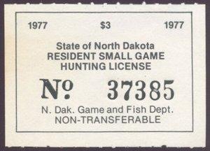 US North Dakota Scott #21 Mint, VF, NH
