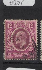 East Africa & Uganda SG 38 VFU (8dtt)