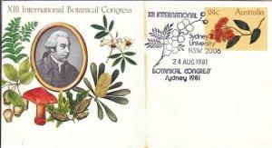 1981, Australia: 13th International Botanical Gardens Congress, FDC (D13358)
