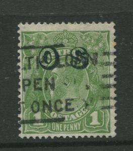 Australia  #O7 Used 1932 Single 1p Stamp