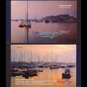 GUERNSEY 2005 - Scott# 879D Booklet-Sea NH
