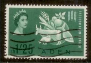 Aden 1963 SC# 65 Used L59