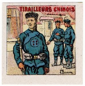 (I.B) France (Great War) Cinderella : Chinese Sharpshooters (Delandre)