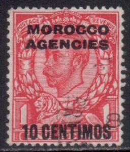 Morocco Scott 47 - SG127, 1912 Crown Spanish 10c used