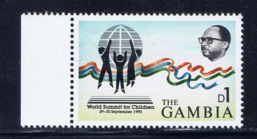 Gambia 1058 NH 1991 issue