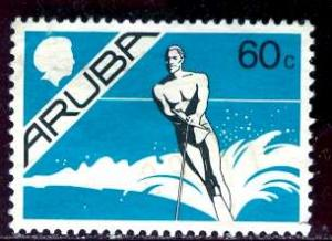 Aruba 1986; Sc. # 9; O/Used Single Stamp