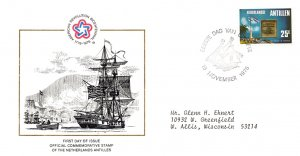 Netherlands Antilles, Americana, Worldwide First Day Cover