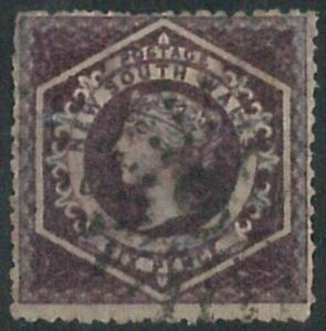 70275 - AUSTRALIA: New South Wales - STAMP: SG # 164 lot of 3 - Finely Used