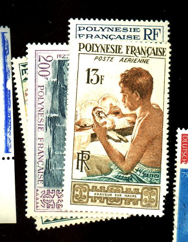 French Polynesia #C24-7 MINT F-VF OG LH Cat $85