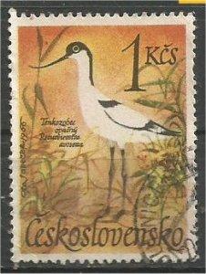 CZECHOSLOVAKIA, 1967, used.1k, Birds Scott 1451