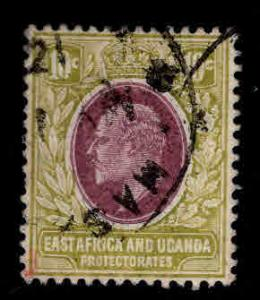 East Africa and Uganda protectorates  Scott 34 KEVII nice color and centering