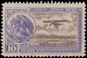 1929-1934 Mexico #C16-C19, Incomplete Set, Never Hinged