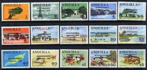 Anguilla 1969 Independence opt\'d on complete definitive ...