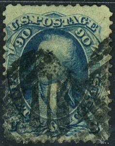 U.S. #72 Used F-VF