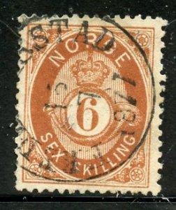 Norway # 20, Used. CV $ 90.00