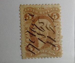 United States USED REVENUE Scott Number R25