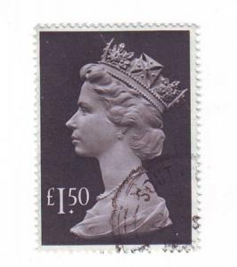 Great Britain ScMH173 £1.50 Machin Head stamp used