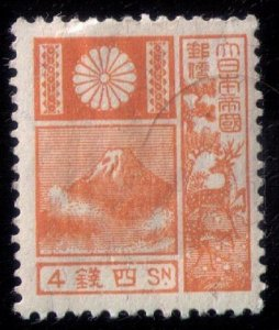 Japan SCOTT #172 LIGHTLY CANCELLED Used Very Fine