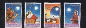 Christmas Island 242-245 MNH