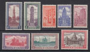 INDIA 207 - 222  MINT NEVER HINGED OG ** NO FAULTS EXTRA FINE !