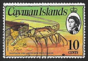 [7056] Cayman Islands # 338 Used