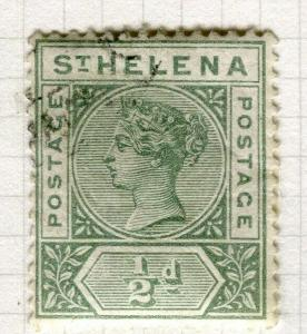 ST. HELENA; 1890-97 early QV issue fine used 1/2d. value