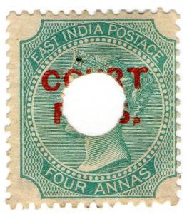 (I.B) India Revenue : Court Fees 4a (Provisional)