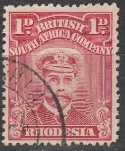 Rhodesia #120b  F-VF Used CV $2.50 (D433)
