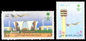 Saudi Arabia 1999 Scott #1282-1283 Mint Never Hinged