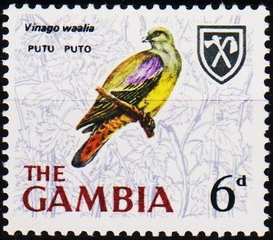 Gambia. 1966 6d S.G.239 Unmounted Mint