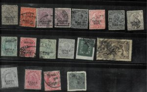 india- patiala state  used lot hcv with some others stamps