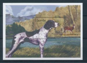 [26121] Uganda 2001  Pointer Dog MNH