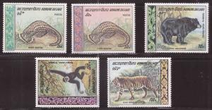 LAOS Scott 192-193, C59-C61 MNH** 1969 set  Disturbed Dry gum