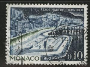 MONACO Scott 505 used 1962 stamp