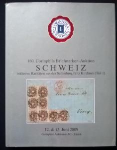 Auction catalogue SCHWEIZ Raritaten Fritz Kirchner usw Classic Switzerland