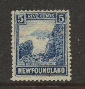 Newfoundland - Scott 135 - Pictorial Definitive - 1931 - MNG - Single 5c Stamp