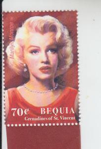 2004 Bequia St Vincent Marilyn Monroe  (Scott 332) MNH