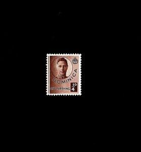 DOMINICA - 1940 - KG VI - KING GEORGE VI - PORTRAIT  # 111 - MINT - MNH SINGLE!