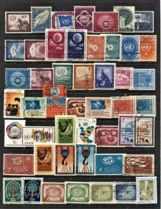 STAMP STATION PERTH United Nations #49 Mint / Used Selection - Unchecked