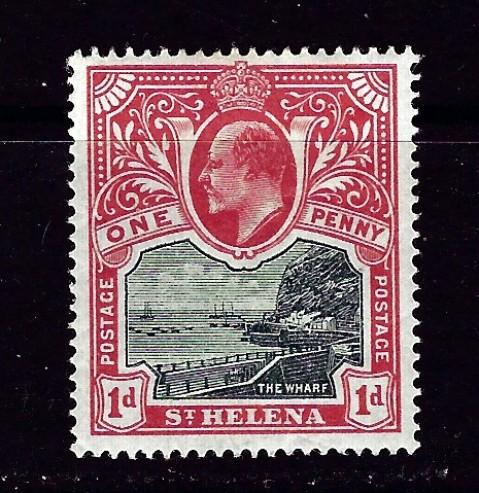 St Helena 51 Hinged 1903 issue