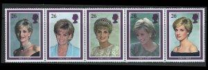 Great Britain Scott 1795a MNH!  Diana!