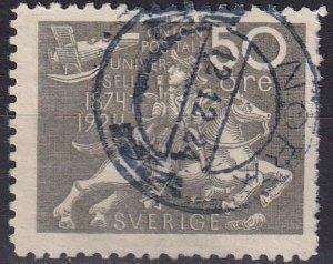 Sweden #222  F-VF Used CV $62.50  (Z5081)