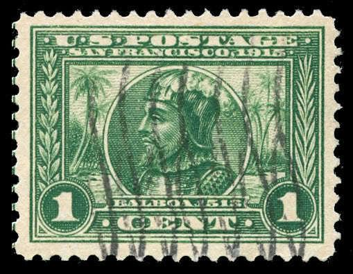momen: US Stamps #397 Used XF