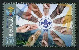 Armenia 756,MNH. EUROPE CEPT-2007.Scouting,centenary.